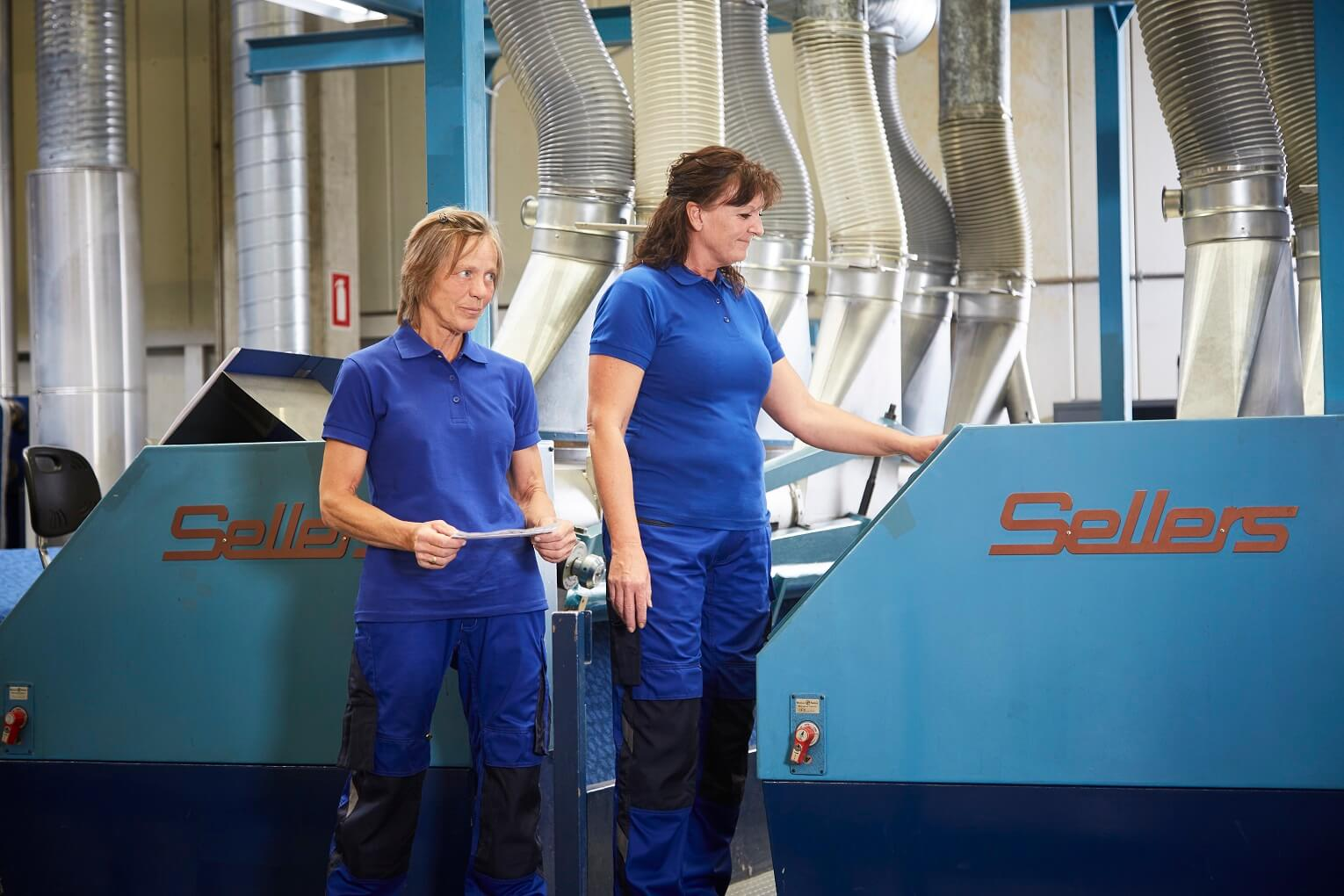 Factory - 2 Women - Royal blue Workwear