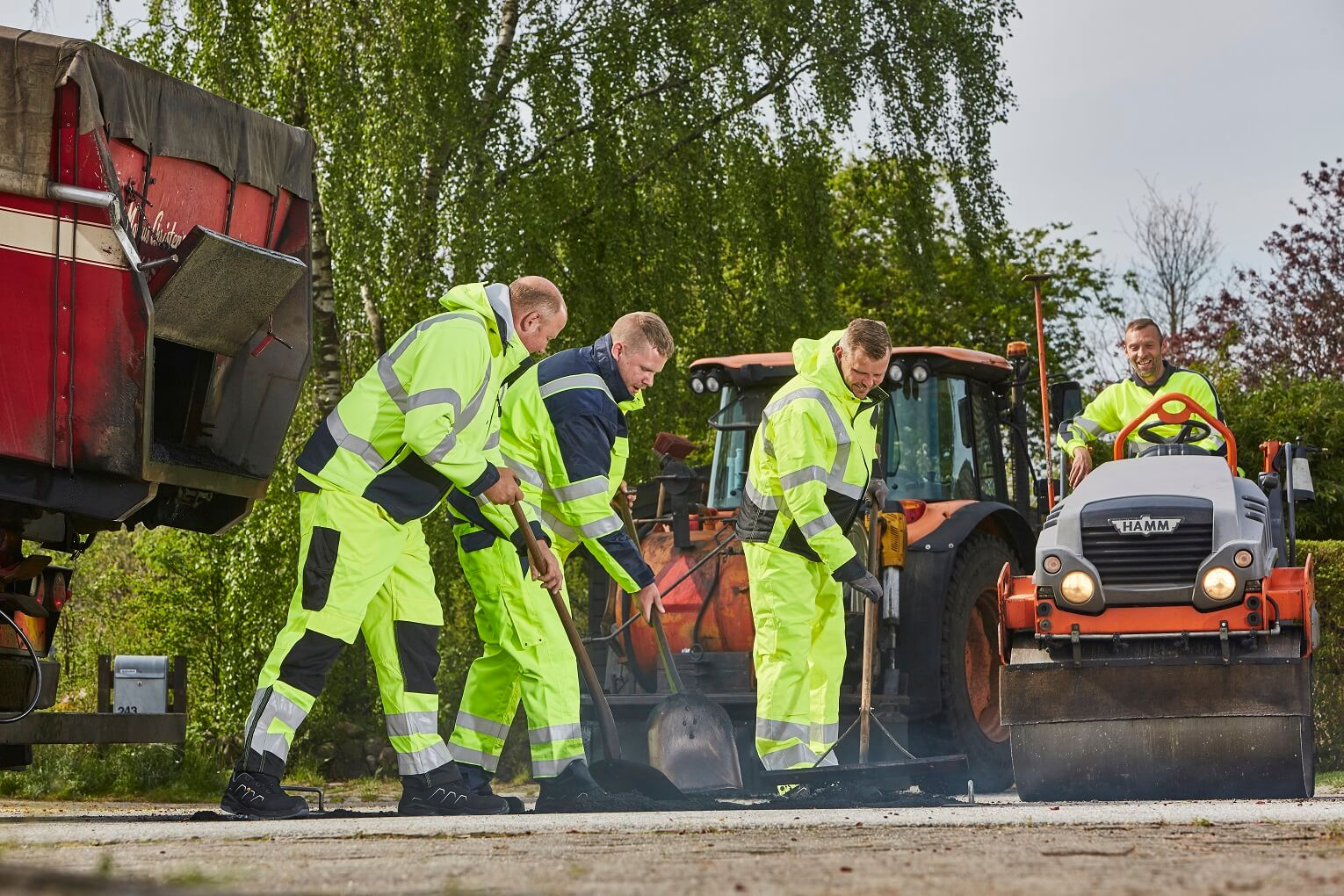 4 Men - Work - Hi-vis Clothing