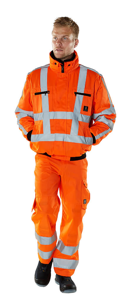 Protective clothing - MASCOT® SAFE ARCTIC - Fluorescent orange - Model