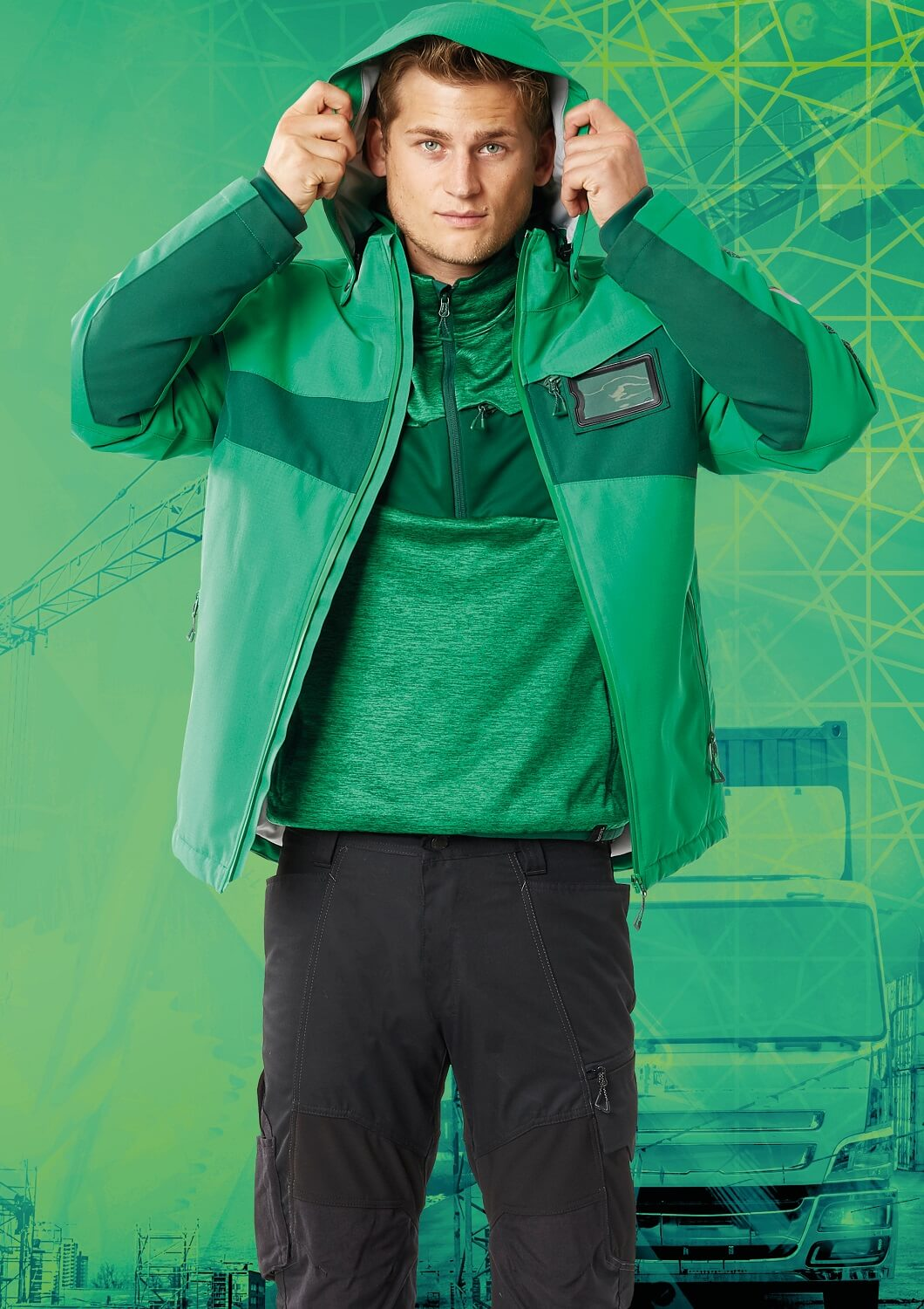 Workwear - MASCOT® ACCELERATE - Man - Green