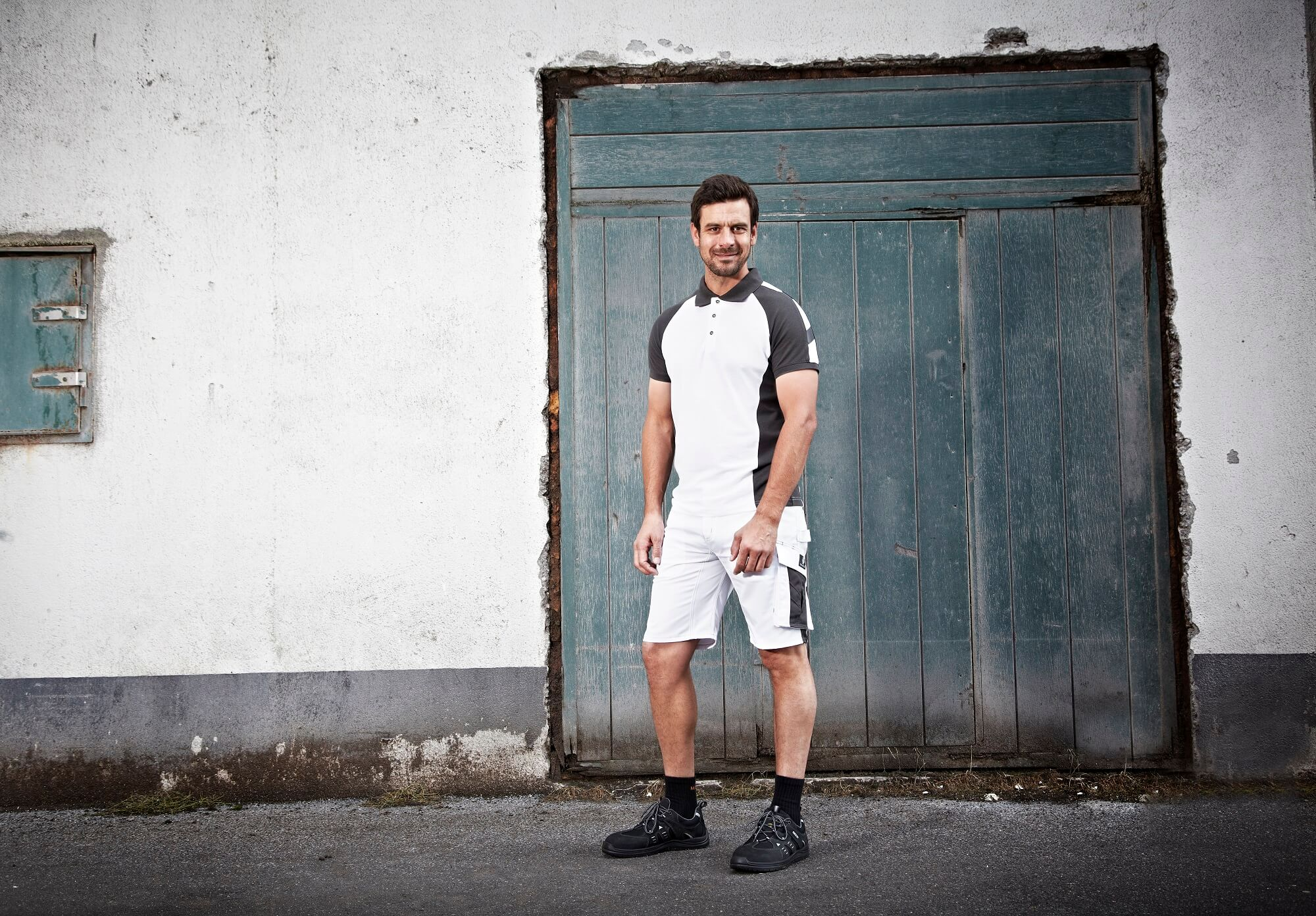 Shorts & Work Polo Shirt -White - MASCOT® UNIQUE - Environment
