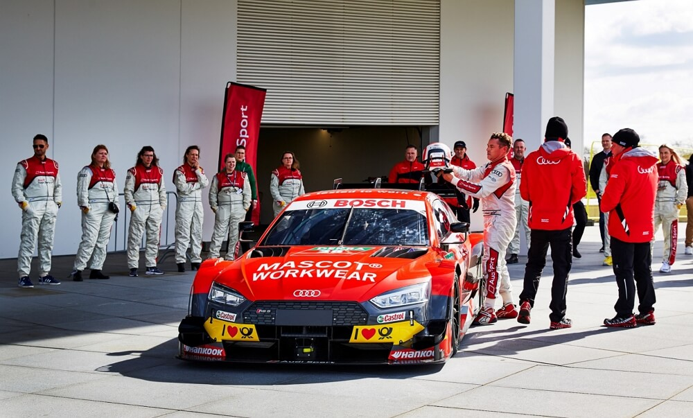 2019 - MASCOT WORKWEAR - DTM - Audi Sport - Audi Sport Official Supplier - Tom Kristensen