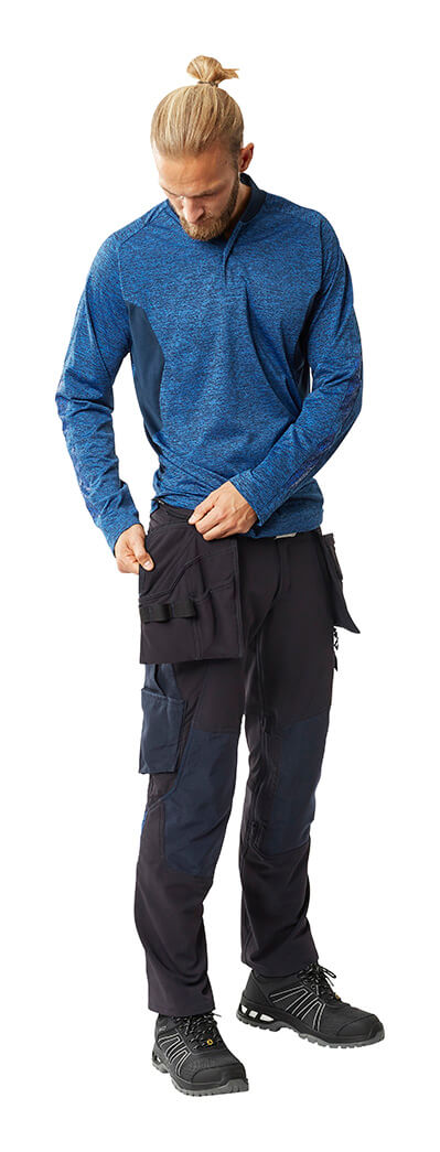 MASCOT® ACCELERATE Jumper & Trousers with kneepad pockets and holster pockets  - Man