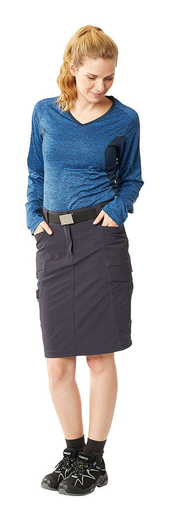 MASCOT® ACCELERATE - Royal blue - Long Sleeve Shirt & Skirt