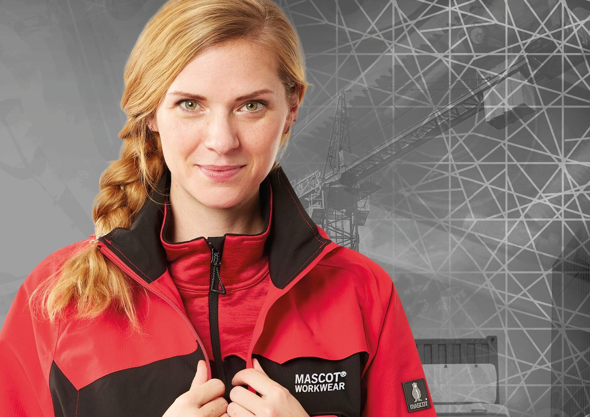MASCOT® ACCELERATE - Red - Jacket for women