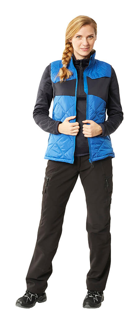 Royal blue & Black - Thermal Gilet, Jumper & Trousers - MASCOT® ACCELERATE - Woman