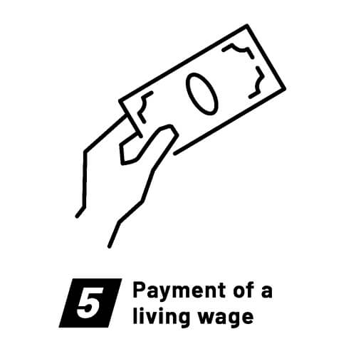 Fair Wear Foundation-Labour standards-Payment of living wage