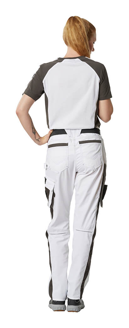 Woman - Work Trousers & T-shirt - MASCOT® UNIQUE - White