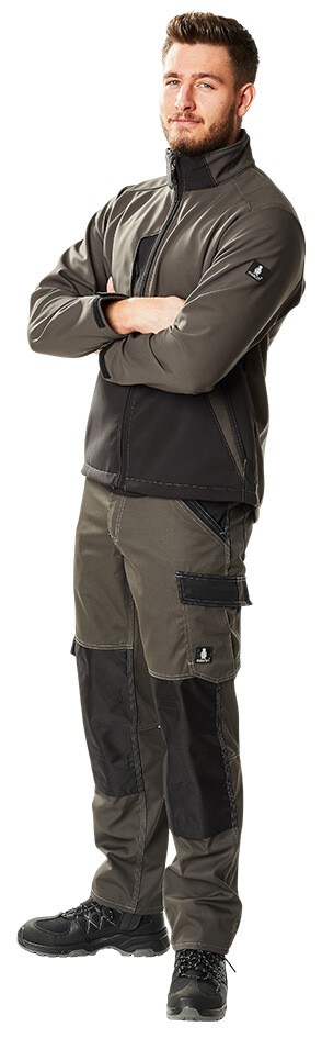 MASCOT® LIGHT Softshell Jacket & Trousers - Model