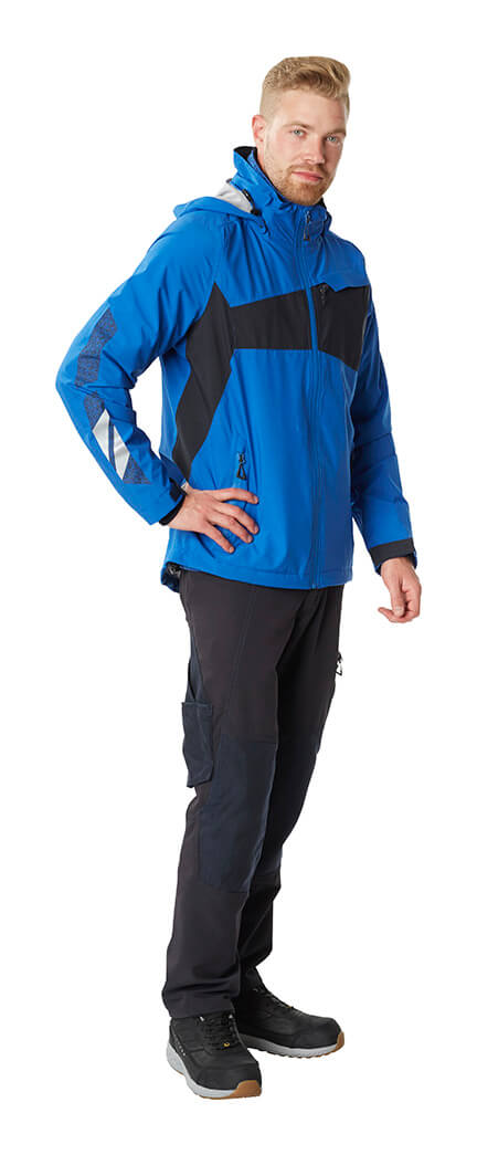 Winter Jacket Royal blue & Trousers - MASCOT® ACCELERATE - Model