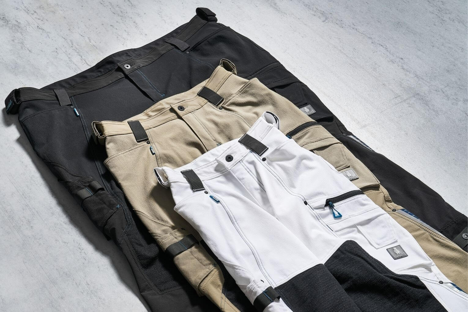 ADVANCEDTrousers with kneepad pockets