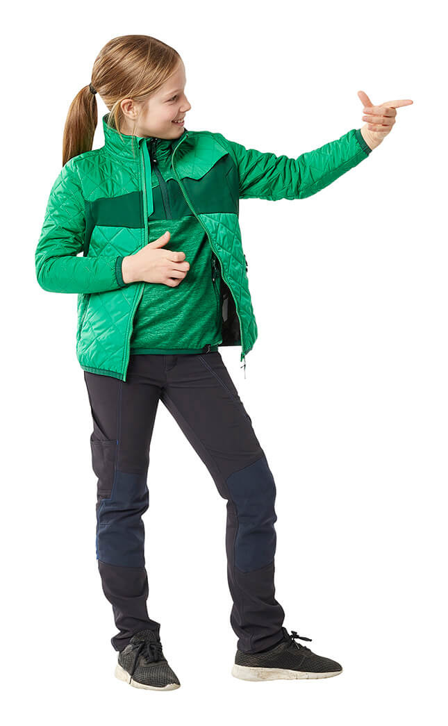 Green - Children's Jacket, Jumper & Trousers - MASCOT® ACCELERATE