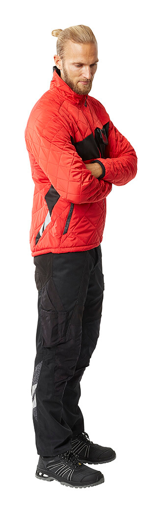 Thermal Jacket & Trousers - Red - MASCOT® ACCELERATE - Man