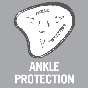 Ankle protection - Pictogram