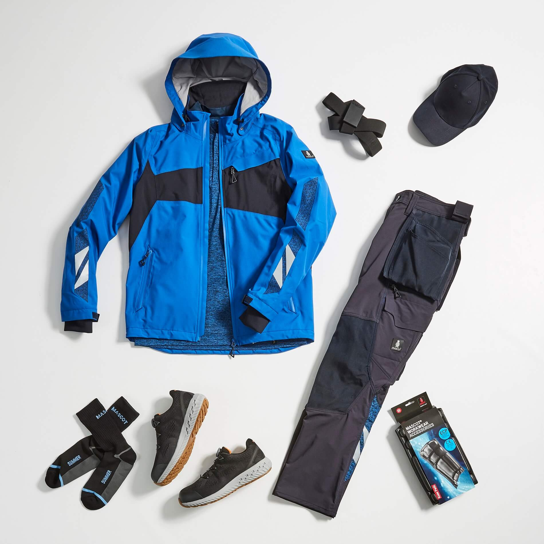 MASCOT® ACCELERATE - Work Trousers, Jacket & Accessories - Collage
