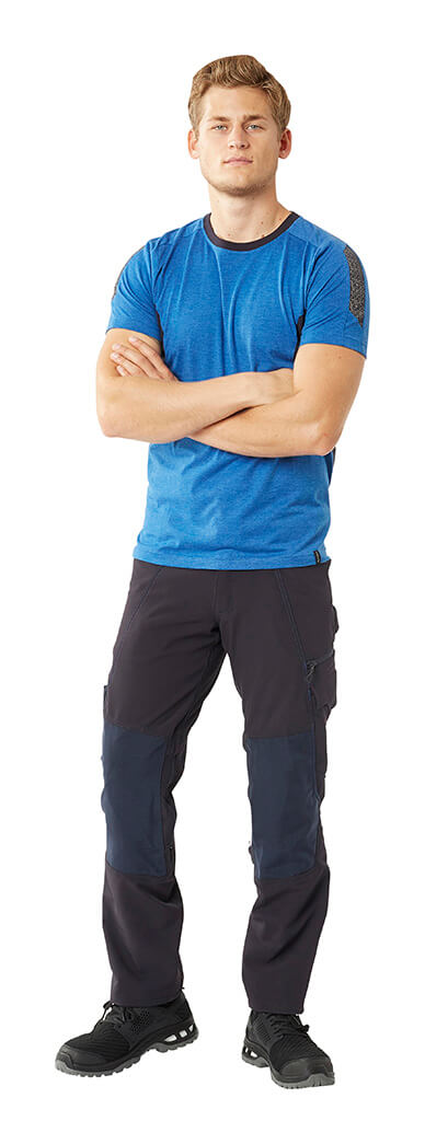 Work T-shirt & Trousers - Model - MASCOT® ACCELERATE