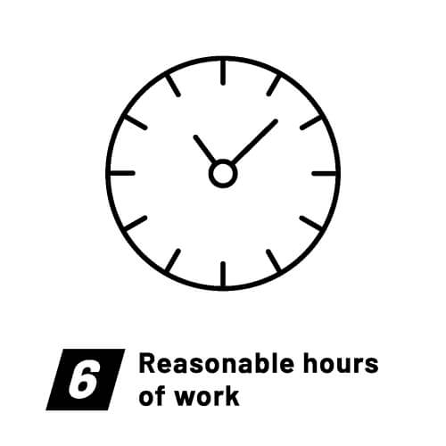 Fair Wear Foundation-Labour standards-Reasonable hours of work