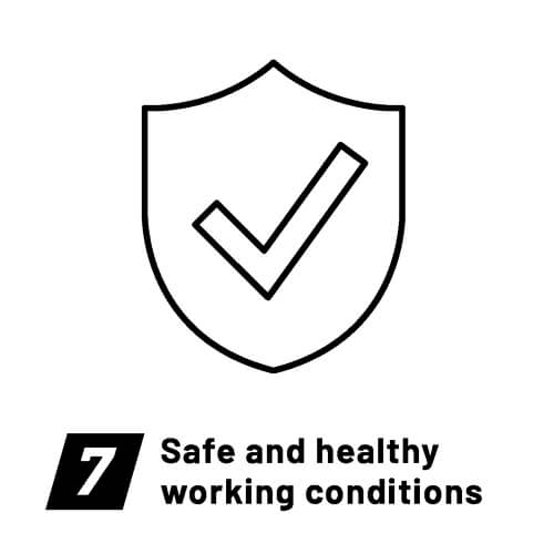 Fair Wear Foundation-Labour standards-Safe and healthy working conditions