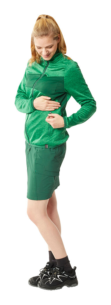 Green - Zipped Jumper & Skirt - MASCOT® ACCELERATE