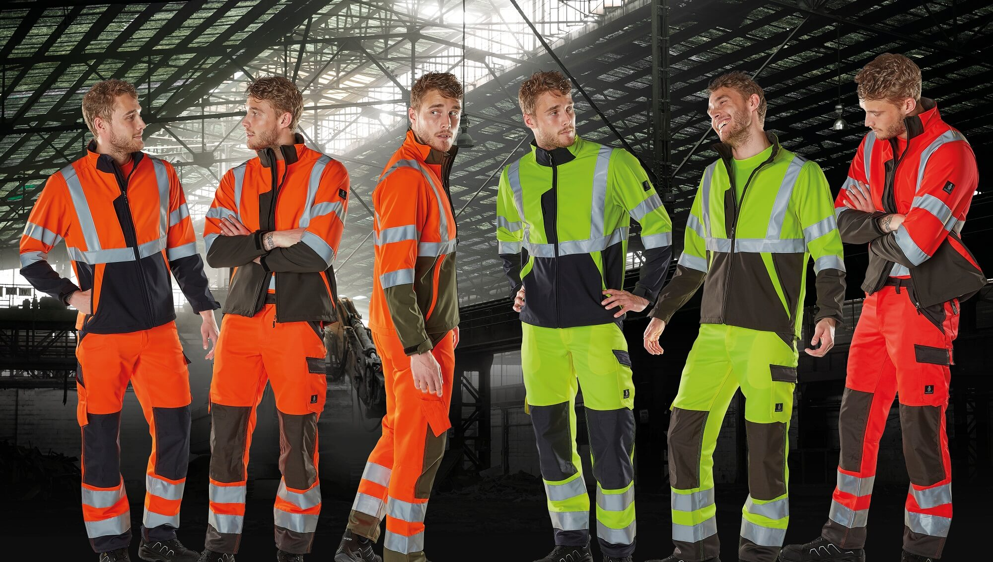 Hi-vis Jackets & Trousers with kneepad pockets - MASCOT® SAFE LIGHT